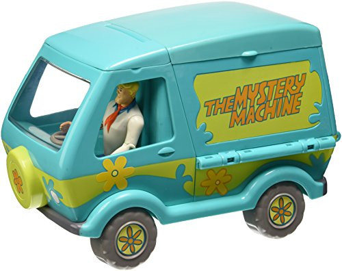 Giochi Preziosi-Scooby DOO Typ Auto Mystery Machine mit Figur Fred hoch - Scoobydoo Fred Kind Kostüm