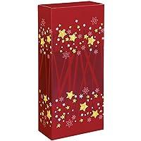 10 pieza cartón Advent para dos botellas de vino, vino del paquete, botella cartón