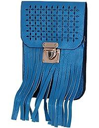 Ratash Cut Work With Stripe Cut Sling Bag Turquoise (Hbd_31_32_33_13)