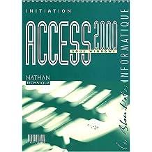 Access 2000 sous Windows. Initiation by Monique Langlet (2001-03-27)