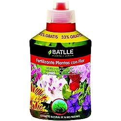 Semillas Batlle 710822UNID Fertilizante plantas con flor, 400 ml