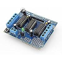 Modulo Motor Driver Shield Controlador Servo L293D Puente H Arduino Uno Mega