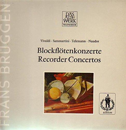 Blockflötenkonzerte, Recorder Concertos [Vinyl LP]