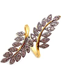JDX American Diamond Ring For Girls And Women