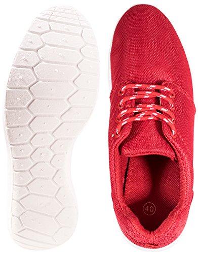 Tênis Unisex Sneakers Aptidão Best carregadores Senhoras Sneaker Corredor Vermelho Das w00qIta