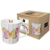 PPD Porzellan Henkelbecher Happiness Butterfly