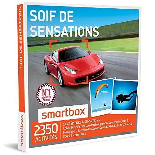 SMARTBOX - Coffret Cadeau homme femme - Soif de sensations - idée cadeau - 2350...