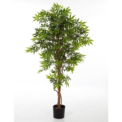 Acero giapponese artificiale in vaso 400 foglie verde for Acero giapponese in vaso