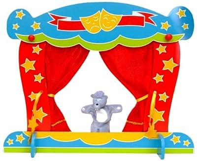 Tellatale T-2431 - Teatro para marionetas de dedo por Fiesta Crafts