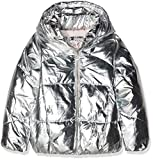 TOM TAILOR Kids Mädchen Jacke Padded Jacket with Hood, Mehrfarbig (Original|Multicolored 0004), 164