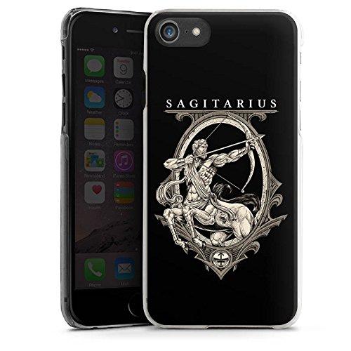 Apple iPhone X Silikon Hülle Case Schutzhülle Schütze Sternzeichen Astrologie Hard Case transparent