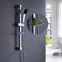 Auralum® bagno doccia doccia staffa palmare, portatile doccia con il