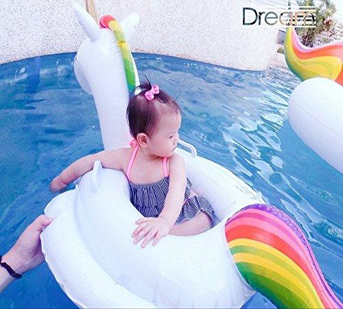 Einhorn Luftmatratze, Kinder Schwimmen Ring Umweltfreundliches PVC Material Wird die Haut des Kindes Nicht Verletzen Geeignet für 1-6 Jähriges Baby