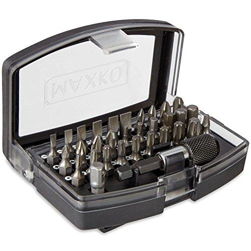 maxko-bit-set-32-teilig-inklusive-bithalter-und-adapter-vierkant-auf-sechskant-fuer-heimwerker-und-a