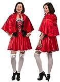 Brandsseller Damen Kostüm - ROTKÄPPCHEN - Kleid mit Kapuze - Fasching Karneval Junggesellenabschied- Größe: S/M Vergleich
