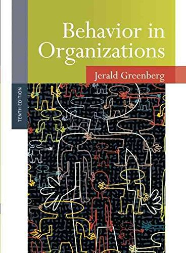 [(Behavior in Organizations)] [By (author) Jerald Greenberg ] published on (July, 2010)