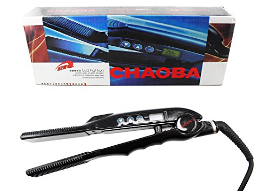 Ear Lobe & Accessories Professional And Personal Choba LCD Flat Iron Ceramic Hair Straightener
