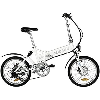 Tucano Hide Sport Bicicleta Eléctrica, Unisex Adulto, Blanco, 20