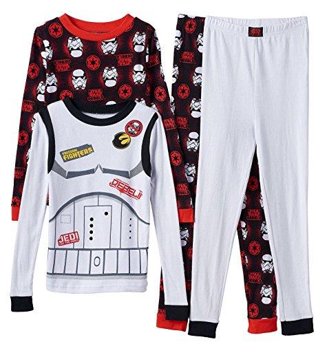 Star-Wars-Rebel-Asalto-4-piezas-Juego-de-pijama-Boys-4-8