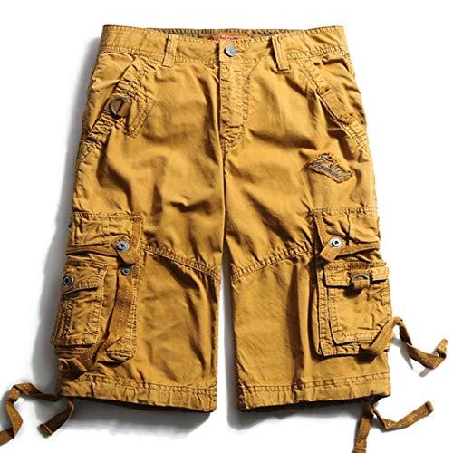 Desconocido Pantalones Cargo Hombre Pantalones Cortos