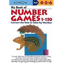 My Book of Number Games, 1-150 (Kumon Workbooks)