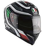 AGV Casco Moto K-5 S E2205 Multi PLK, Firerace Black/Italy, L