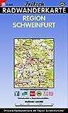 Radwanderkarte Region Schweinfurt: M 1:50000 (Fritsch Radkarte 1:50000) -
