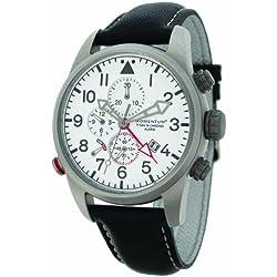 Momentum Herren-Armbanduhr XL TITAN III Analog Quarz Leder 1M-SP32W2B