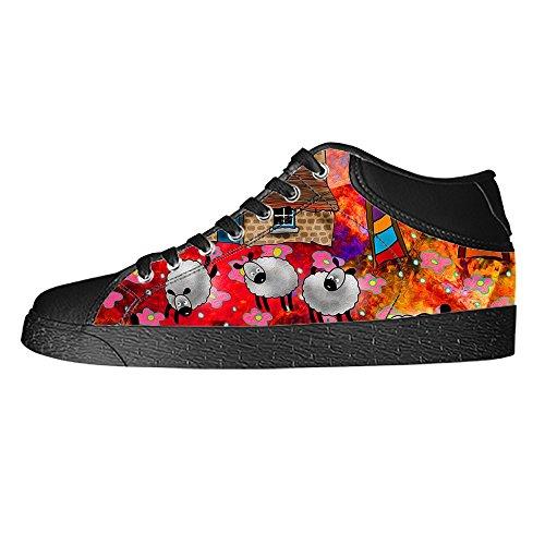 Dalliy Cute Color Sheep Men's Canvas shoes Schuhe Lace-up High-top Sneakers Segeltuchschuhe Leinwand-Schuh-Turnschuhe A