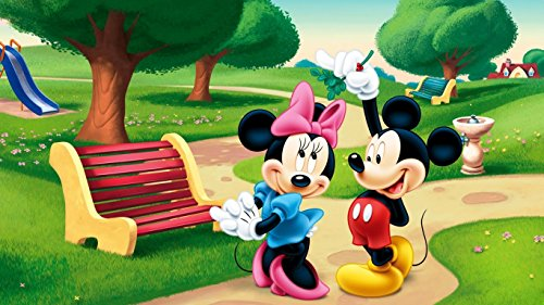 Disney Mikki Mouse Cartoon poster (size 12 x 18 inch)