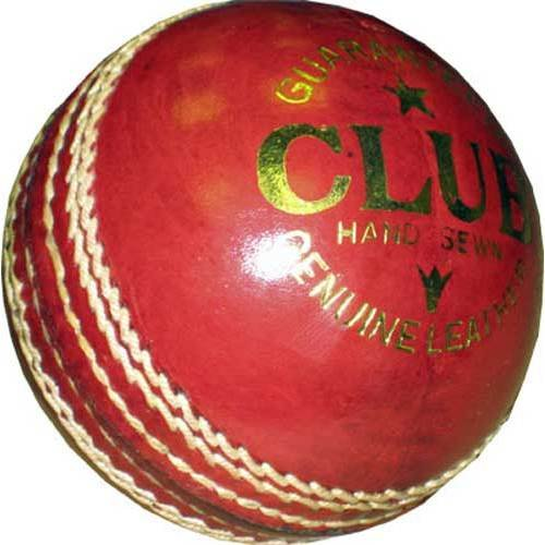 Readers Club Cricketball Senior, Leder, handgenäht, ca. 156 g