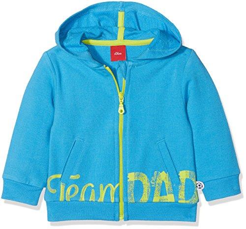 s.Oliver Baby-Jungen Sweatshirt 65.803.43.4988, Blau (Light Blue 6431), 74
