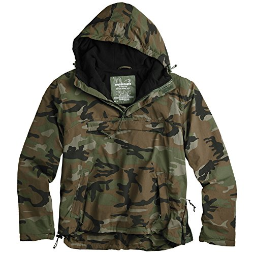 Surplus Herren Jacke Windbreaker Woodland