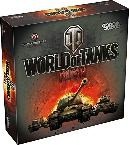 "Hobby Games 002316 - Gioco di strategia ""World of Tanks - Rush"" [Lingua inglese]"