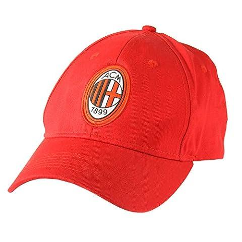 AC Milan Core Baseball Cap - Red