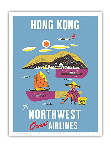 hong-kong-fragrant-harbour-northwest-orient-airlines-vintage-airline-travel-poster-c1952-master-art-
