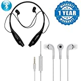 Drumstone KBP 730T Wireless Bluetooth Universal Stereo Headset With TF Card Slot & In-ear YR Stereo Earphone Headphone Compatible With Xiaomi, Lenovo, Apple, Samsung, Sony, Oppo, Gionee, Vivo Smartphones (One Year Warranty)