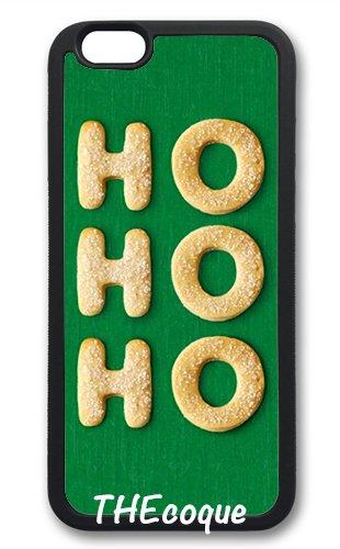 Coque silicone BUMPER souple IPHONE 5c - Joyeux noel pere noel merry Christmas motif 6 DESIGN case+ Film de protection OFFERT 1