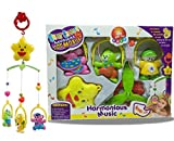 #10: MousePotato Cot Mobile Hanging Music Box with Rotating Cartoon Rattles