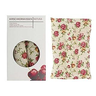 UMOI Kirschkkernkissen Pillow für Entspannung und Wohlbefinden zum Aufwärmen im Backofen oder Mikrowelle I 350 Gramm Kirschkerne I 30cm x 20cm (Retro)