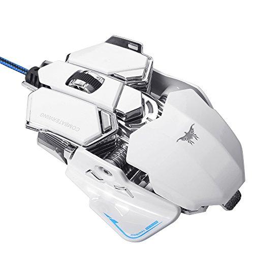 Combaterwing 4800 DPI Programmierbare 10 Tasten RGB LED Gaming Maus TH249