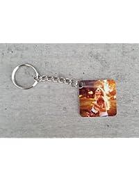 Saphirdesign Schlüsselanhänger aus Metal mit Wunsch-Motiv-Bild-Logo. Geeignet ALS Werbe-Erinnerungs-Geschenk. Das Perfekte Individuelle Fotogeschenk.