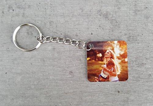 Saphirdesign Schlüsselanhänger aus Metal mit Wunsch-Motiv-Bild-Logo. Geeignet als Werbe-Erinnerungs-Geschenk. Das perfekte individuelle...
