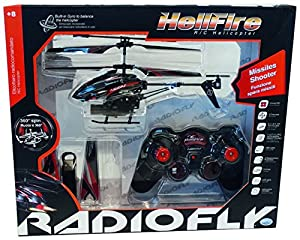 DSO ODS Radiofly - Hellfire - Juguetes de Control Remoto (Polímero de Litio, 6 x AA, 22 cm) Multi