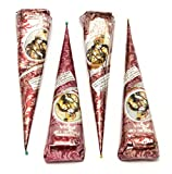 PRIDE OF INDIA Natural Herbal Mehendi Cones ( 35 g Each)