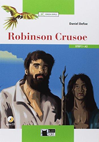 Robinson Crusoe+cdrom New Edition (Green Apple) - New Green Apple