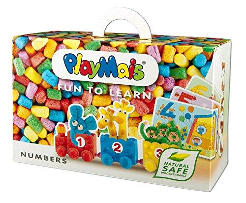 PlayMais 160170 - PlayMais FUN TO LEARN, Numbers, Bastelset (Für Jungen Bastelpackungen)