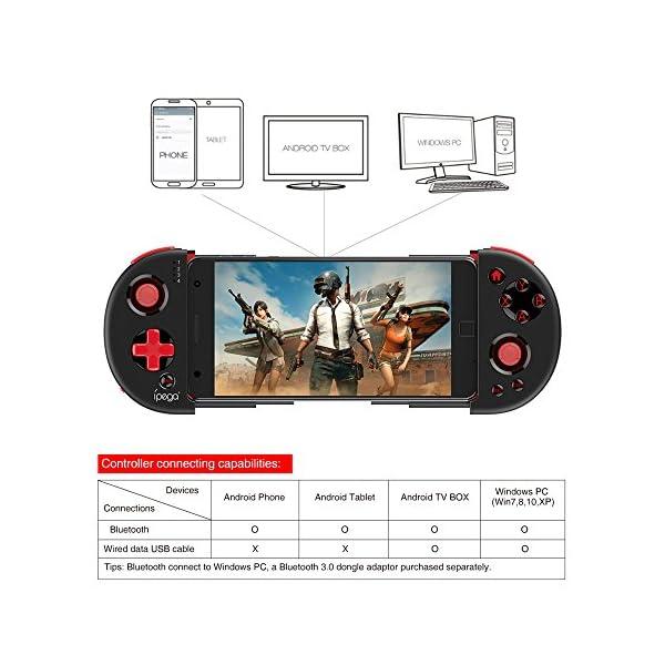 Ipega-PG-9087-Manette-Android-Red-Samurai-Bluetooth-Gamepad-Contrleur-de-Jeu-Extensible-Joystick-sans-Fil-Wireless-Gamepad-Smartphone-jusqu-62-Pouces-Tlcommande-pour-AndroidPC