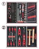 KS TOOLS 714.0114 Composition d'outils 2 tiroirs pour servante, 114 pièces
