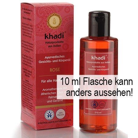 Khadi: Gesichts- und Körperöl Rose: Khadi: Groesse: Rose Öl 10 ml (10 ml)
